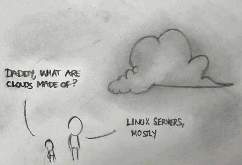 Linux and Cloud Joke